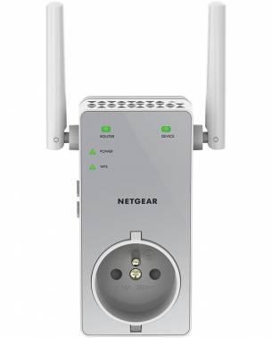 Повторитель беспроводного сигнала NetGear EX3800-100PES белый
