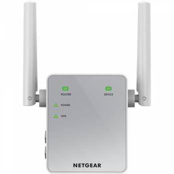 Повторитель беспроводного сигнала NetGear EX3700-100PES белый