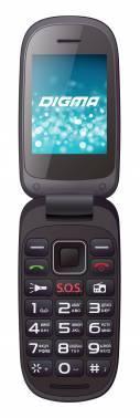 Мобильный телефон Digma A200 2G Linx черный (LT1033MM)