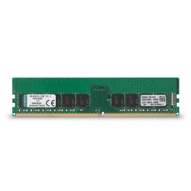 Модуль памяти DIMM DDR4 1x8Gb Kingston KVR21E15D8/8 - фото 1
