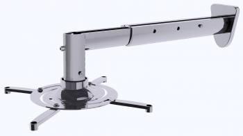 Кронштейн для проектора Cactus CS-VM-PR05BL-AL серебристый