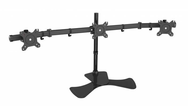 Кронштейн для мониторов Cactus CS-VM-MP330S-BK черный - фото 1