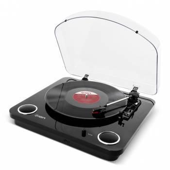 Виниловый проигрыватель ION Audio MAX LP черный (MAX LP BLACK)