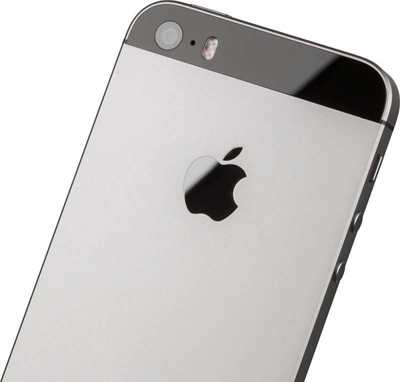 Смартфон Apple iPhone SE MP822RU/A 32ГБ серый - фото 6