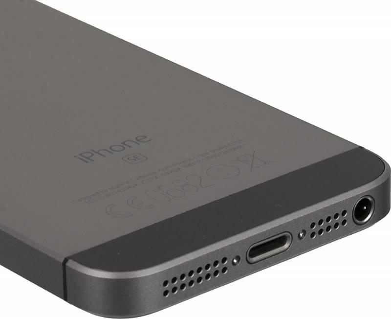 Смартфон Apple iPhone SE MP822RU/A 32ГБ серый - фото 10