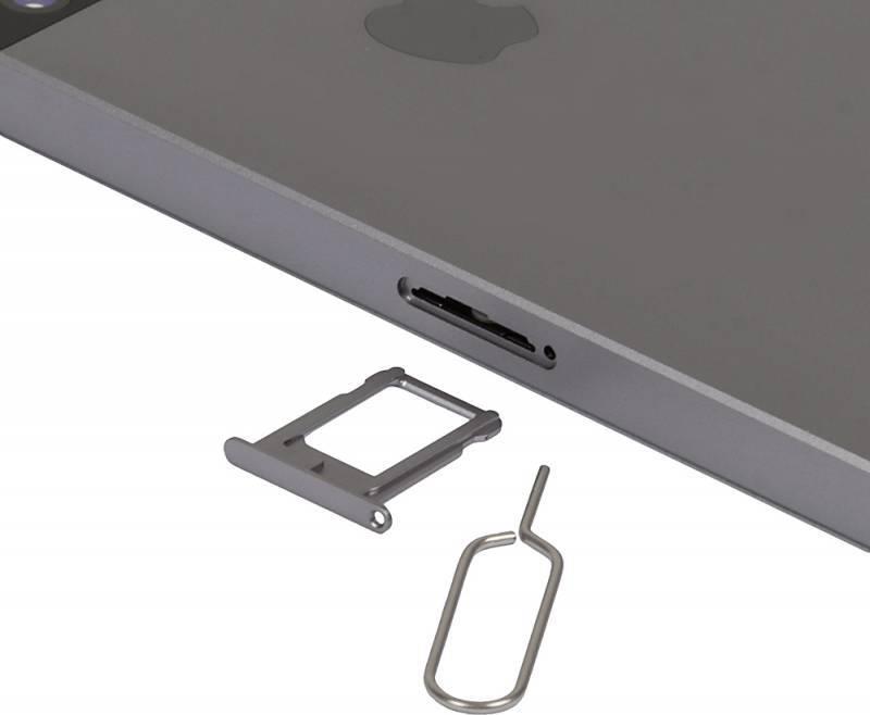 Смартфон Apple iPhone SE MP822RU/A 32ГБ серый - фото 11