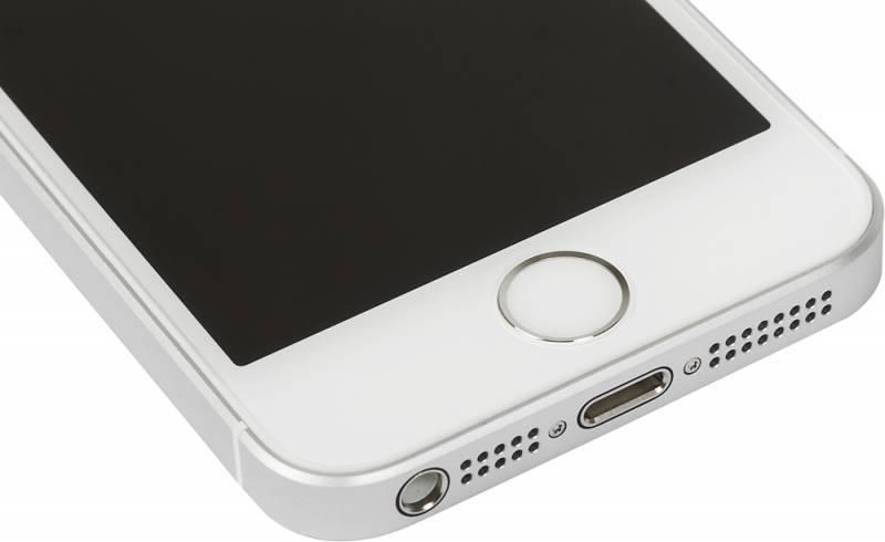Смартфон Apple iPhone SE MP832RU/A 32ГБ серебристый - фото 7