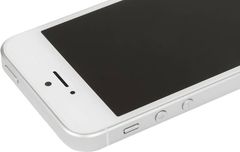 Смартфон Apple iPhone SE MP832RU/A 32ГБ серебристый - фото 8