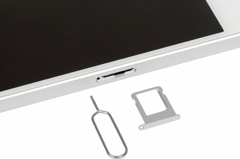Смартфон Apple iPhone SE MP832RU/A 32ГБ серебристый - фото 11