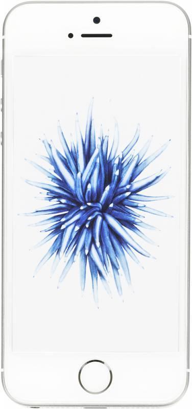 Смартфон Apple iPhone SE MP832RU/A 32ГБ серебристый - фото 1