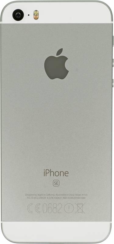 Смартфон Apple iPhone SE MP832RU/A 32ГБ серебристый - фото 4