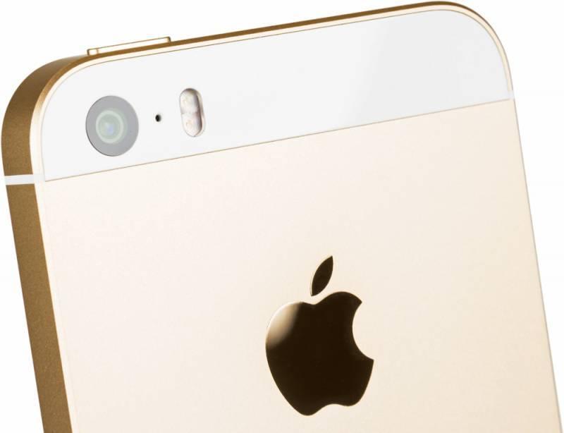 Смартфон Apple iPhone SE MP842RU/A 32ГБ золотистый - фото 5