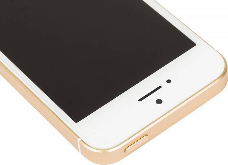 Смартфон Apple iPhone SE MP842RU/A 32ГБ золотистый - фото 6