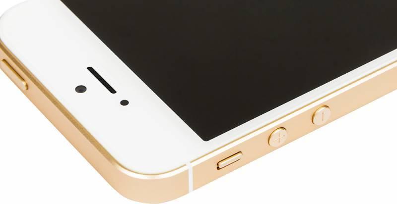 Смартфон Apple iPhone SE MP842RU/A 32ГБ золотистый - фото 8