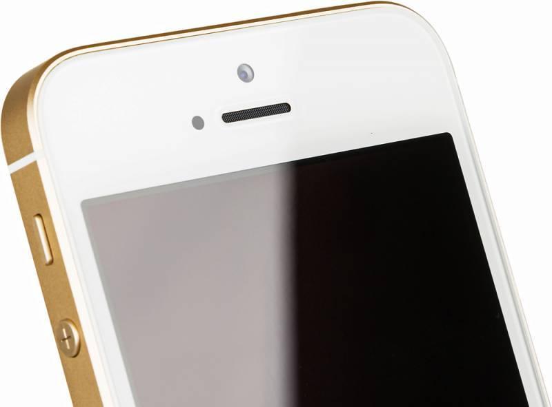 Смартфон Apple iPhone SE MP842RU/A 32ГБ золотистый - фото 9