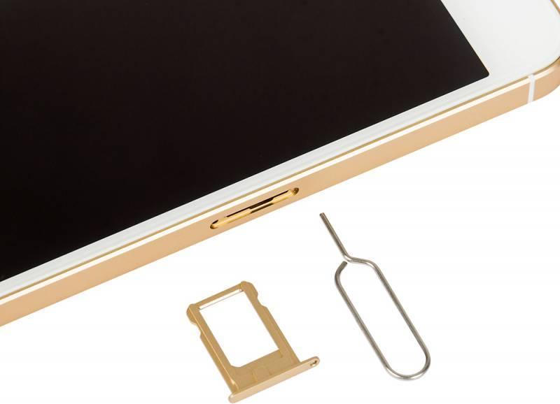 Смартфон Apple iPhone SE MP842RU/A 32ГБ золотистый - фото 10
