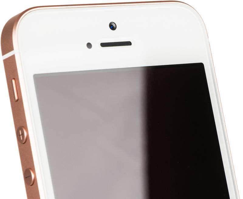 Смартфон Apple iPhone SE MP852RU/A 32ГБ розовое золото - фото 8