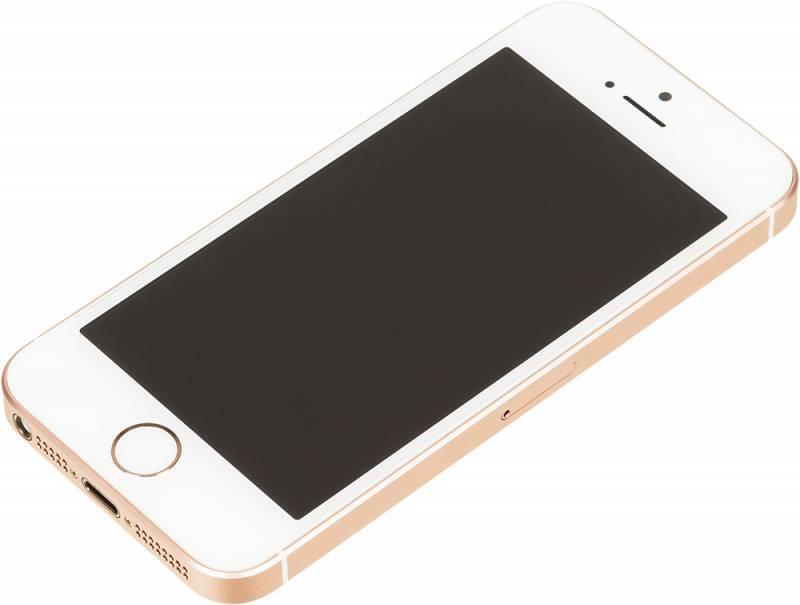 Смартфон Apple iPhone SE MP852RU/A 32ГБ розовое золото - фото 2