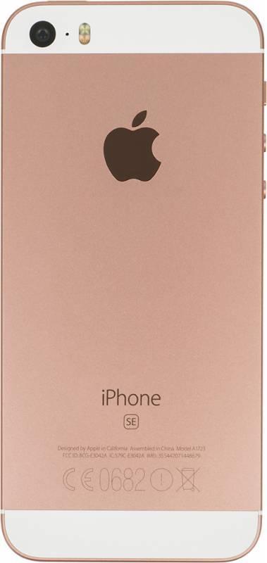 Смартфон Apple iPhone SE MP852RU/A 32ГБ розовое золото - фото 4