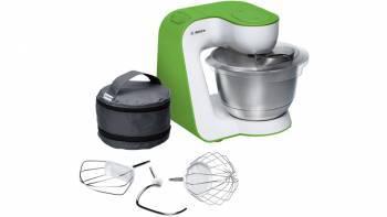 Кухонный комбайн Bosch MUM54G00 белый/зеленый