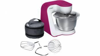 Кухонный комбайн Bosch MUM54P00 белый / розовый