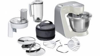 Кухонный комбайн Bosch MUM58L20 серый / серебристый