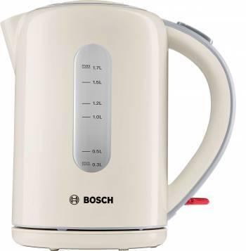 Чайник электрический Bosch TWK7607 кремовый
