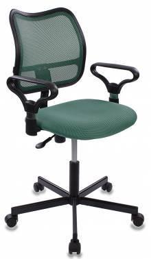 Кресло Бюрократ CH-799M зеленый/зеленый (CH-799M/GR/TW-30)
