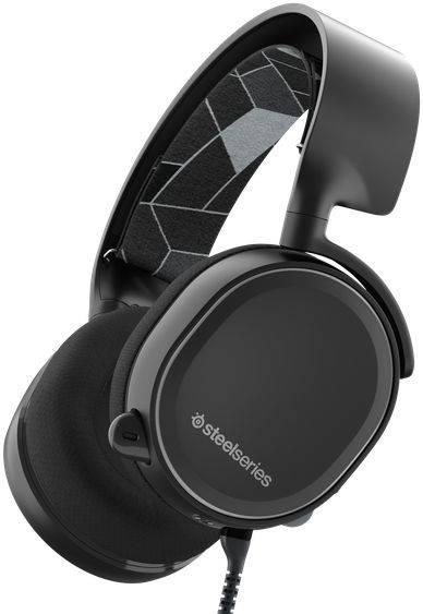 Наушники с микрофоном Steelseries Arctis 3 черный (61433) - фото 3