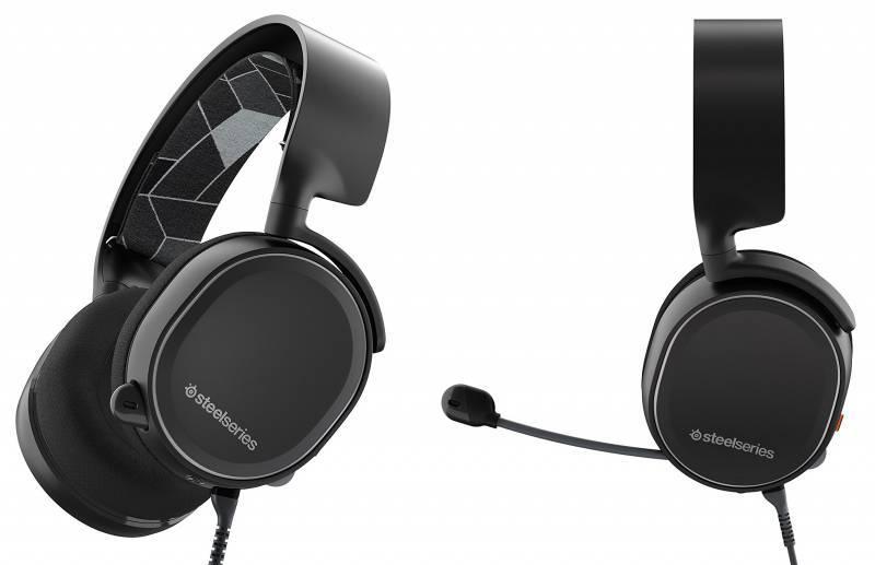 Наушники с микрофоном Steelseries Arctis 3 черный (61433) - фото 4