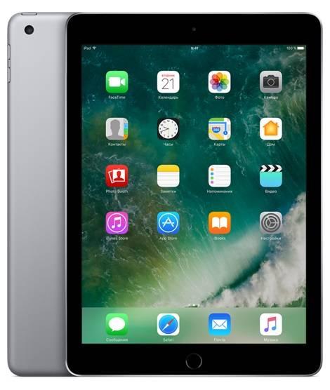 """Планшет 9.7"""" Apple iPad MP1J2RU/A 32ГБ темно-серый - фото 1"""