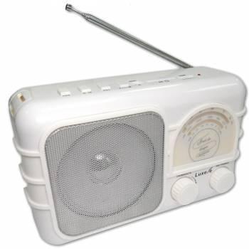 Радиоприемник Сигнал Luxele РП-111 белый (17846)