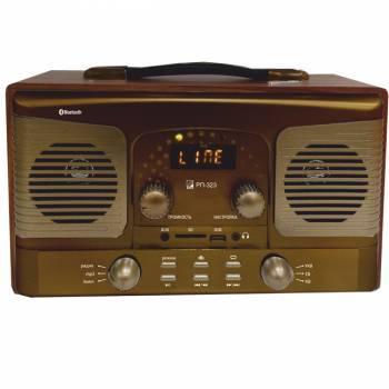Радиоприемник Сигнал БЗРП РП-323 коричневый