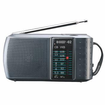 Радиоприемник Сигнал Эфир-02 черный