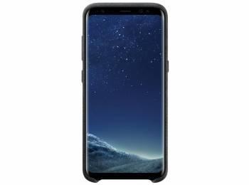 Чехол Samsung Alcantara Cover, для Samsung Galaxy S8, темно-серый (EF-XG950ASEGRU)
