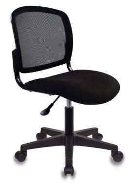 Кресло Бюрократ CH-1296 черный/черный (CH-1296NX/BLACK)