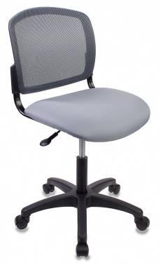 Кресло Бюрократ CH-1296 темно-серый/серый (CH-1296NX/GREY)