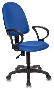 Кресло Бюрократ CH-1300 синий (CH-1300/BLUE)
