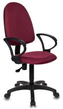 Кресло Бюрократ CH-1300 / CHERRY темно-бордовый