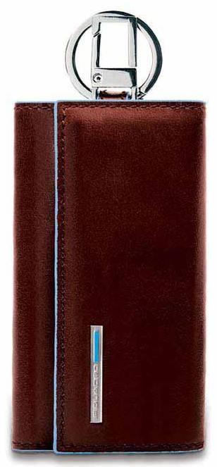 Ключница Piquadro Blue Square коричневый (PC1397B2/MO) - фото 1