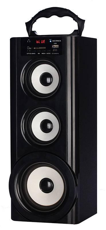 Магнитола Supra BTS-950 черный - фото 1