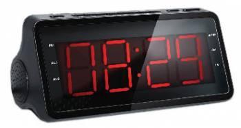 Радиобудильник Supra SA-46FM черный