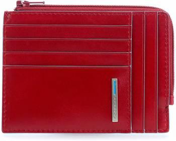 Чехол для кредитных карт Piquadro Blue Square PU1243B2R / R красный