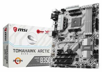 Материнская плата Soc-AM4 MSI B350 TOMAHAWK ARCTIC ATX