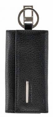 Ключница Piquadro Modus черный натур.кожа (PC1397MO/N)