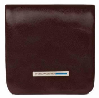 Монетница Piquadro Blue Square PU2636B2 / MO коричневый натур.кожа
