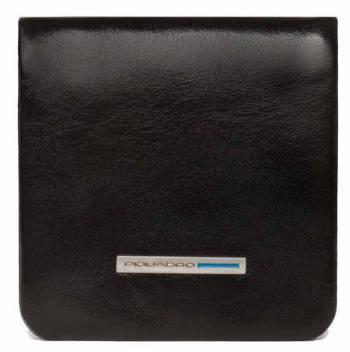 Монетница Piquadro Blue Square PU2636B2 / N черный натур.кожа