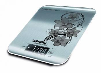Кухонные весы Redmond RS-M737 серебристый / рисунок