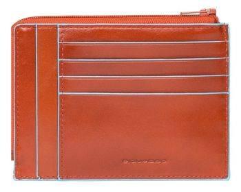 Чехол для кредитных карт Piquadro Blue Square PU1243B2R / AR оранжевый натур.кожа
