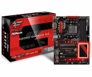 Материнская плата Asrock AB350 Gaming K4 Soc-AM4 ATX